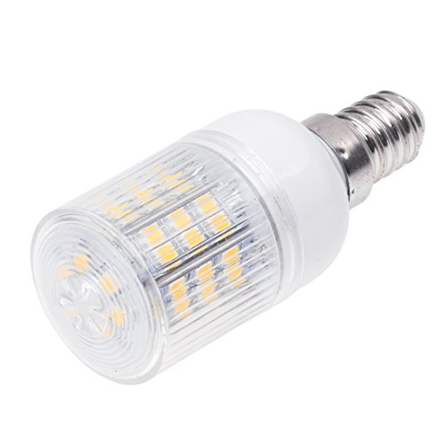 TOOGOO(R) E14 48 3528 SMD LED Licht Lampe High Power Strahler Warmweiss 3W AC220-240V 3600K -