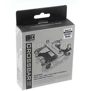 Xigmatek ACK-U01 Kit de fixation Crossbar (Argent) (Import Allemagne)