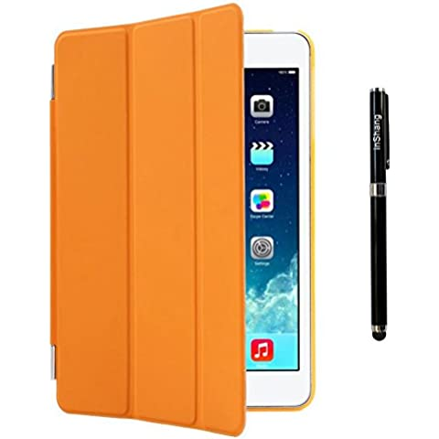 inShang iPad mini 4 Funda soporte y carcasa para iPad mini4 (2015), Smart Cover + carcasa posterior, (Back case), con inteligente