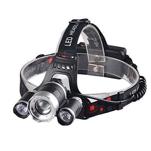 Stirnlampen Multifunktionale Kopflampe LED Fishing Light Ultraviolet Uv Zoomable Scheinwerfer Taschenlampe Laterne Fackel