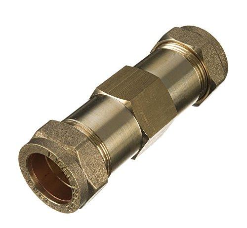 15mm Messing Kompression Reparatur-Kupplung –-Tasche von 10 (Organics Reparatur)