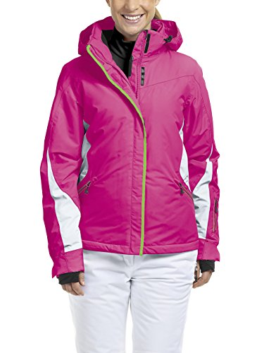 maier sports Damen Skijacke Wattiert Sanne, Beetroot Purple, 40, 216981