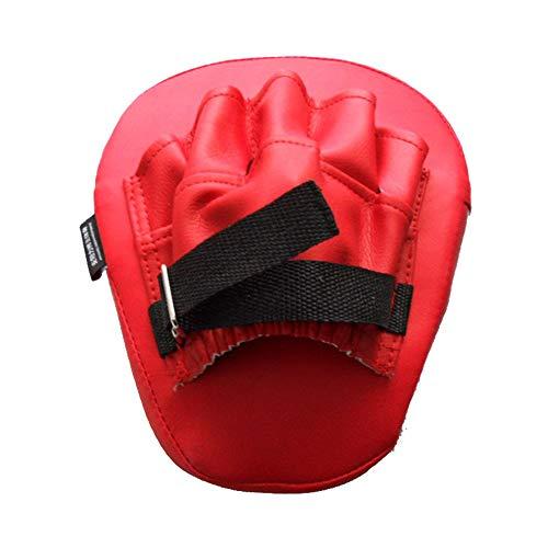 2Pcs Boxing Focus Pads Pads PU Boxing Mitt Training Target Focus Punch Pad Glove Punching Kicking Palm Pad für das Focus-Training von Sanda Taekwondo Foot Muay Thai MMA -
