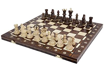 Grand jeu d'échecs EL GRANDE 51 x 52.5 cm