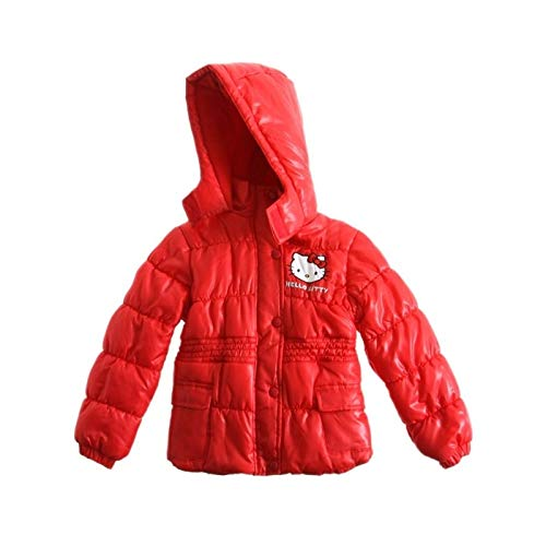 Hello kitty Doudoune Rouge - Rouge, 6 Ans