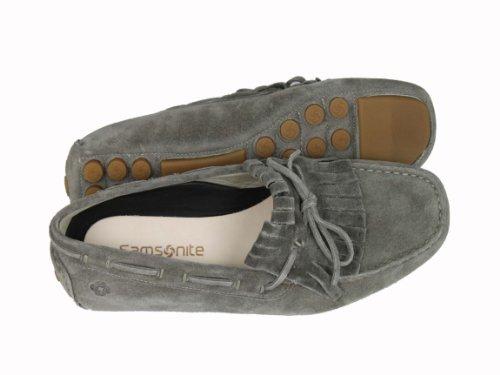 Samsonite Schuhe Herrenschuhe Shoe Slipper 102129 grau Grau