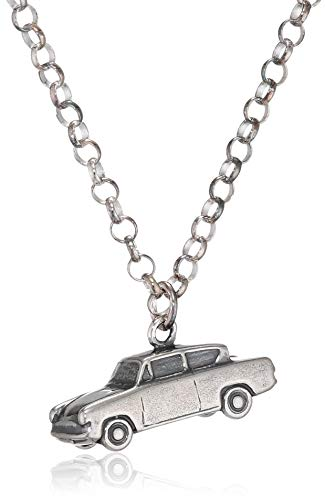 Harry Potter Halskette mit Anhänger Mr Weasleys Ford Anglia Flying Car (Silber) (Harry-potter-ford Anglia)