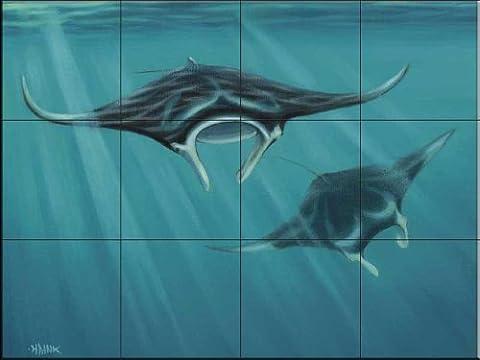 Dive par Setsuo Hamanaka | Carrelage mural pour cuisine dosseret | Salle de bain Carrelage murale