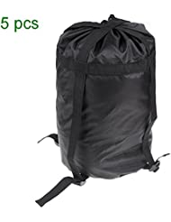Lixada Lightweight Compression Stuff Sack Bag Outdoor Camping Sleeping Collection With Drawstring 4 Straps