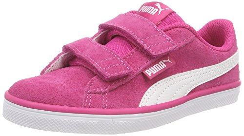Puma Unisex-Kinder Urban Plus SD V PS Sneaker, Pink (Beetroot Purple White 06), 30 EU