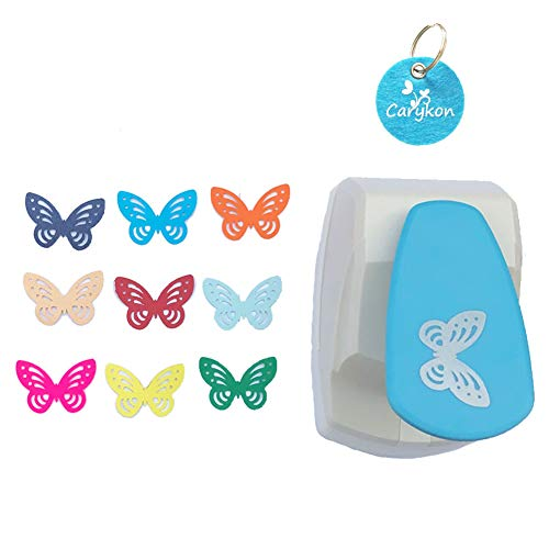 Carykon - Perforadora papel palanca 5 cm Butterfly-Simple