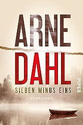 Sieben minus eins: Kriminalroman (Berger & Blom 1)