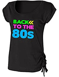 Direct 23 Ltd Back to The 80s Ladies Drawstring Top