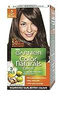 Garnier Color Naturals Mini Shade 5 Light Brown, 29ml + 16g