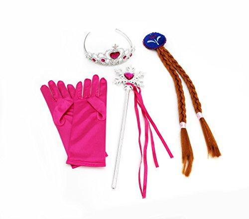 CoolChange accesorios para niños para el disfrace de princesa Anna de Frozen