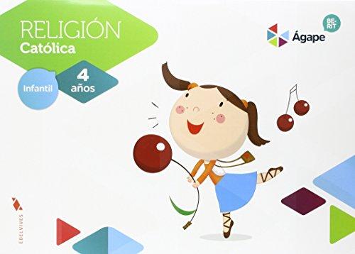Religión Ágape-Berit 4 años (Agape) - 9788414004630