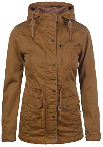 DESIRES Anja Damen Übergangsjacke Jacke Mit Kapuze, Größe:XXL, Farbe:Cinnamon (5056)