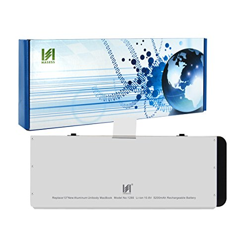 HASESS Batterie Notebook Akku für Apple A1280 A1278(2008 Version Nur MacBook Pro Unibody 13