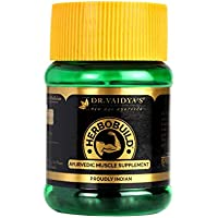 DR. VAIDYA'S new age ayurveda Herbobuild Ayurvedic Capsules for Muscle Gain