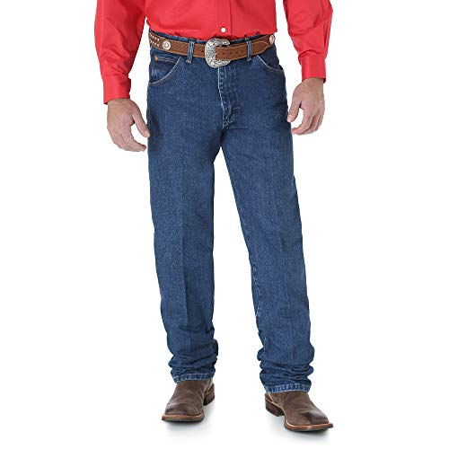 Wrangler Herren Jeans, Cowboy-Schnitt, Relaxed Fit - Blau - 35W / 36L -