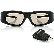 "Gafas 3D DLP-Link ""Wave Xtra"" - Con cargador USB - Full HD 1080p - Triple Flash 144Hz - Compatibles con todos los proyectores 3D DLP"