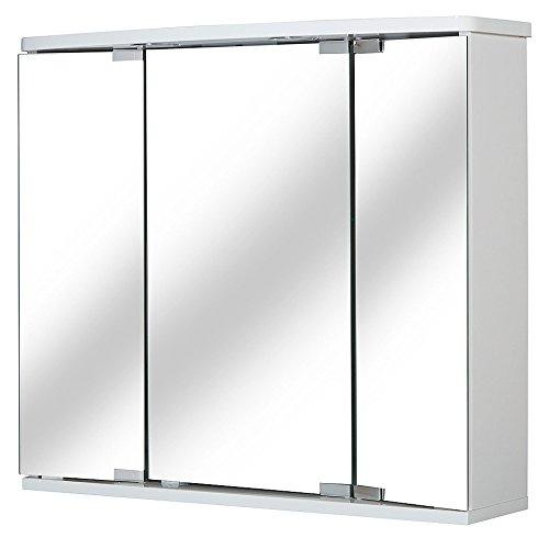 JOKEY Spiegelschrank Funa LED Breite 68 cm, mit LED-Beleuchtung weiß