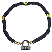 Yale YCL3/10/180/1 - Maximum Security Chain Bike Lock 1800mm - Heavy Duty Protection - 4 Keys including 1 with micro-light