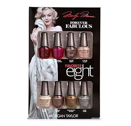 (Morgan Taylor - Forever Fabulous Marilyn Monroe - Mini 8 Pack - 5 mL / 0.17 oz Each)