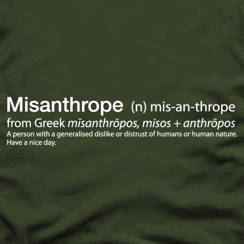Misanthrope T-Shirt, Damen Royalblau
