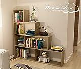 Dormidan- Estantería librería decoración, en Forma de
