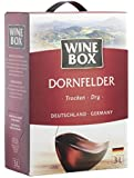 WineBox Dornfelder Landwein Rhein trocken Bag-in-Box (1 x 3 l)