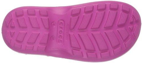 crocs Unisex-Kinder Handle It Rain Boot Gummistiefel Pink (Fuchsia)