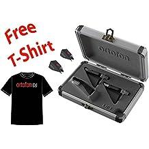 Ortofon Concorde PRO S Twin Pack + 2 Extra PRO S Stylus + Ortofon DJ T-shirt