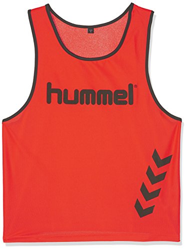 Hummel Unisex Leibchen Fundamental Training Bib, neon orange, XL, 05-002-5179 (Leibchen Trainings)