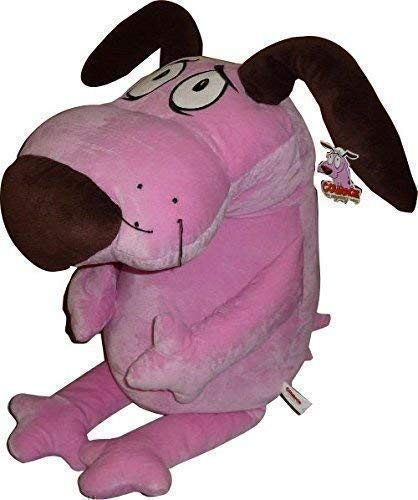 Courage The Cowardly Dog Soft Toy Plush 30'' Cartoon Network