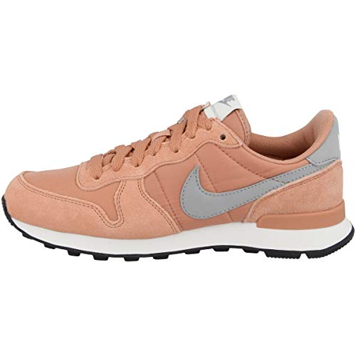 Nike Damen WMNS Internationalist Leichtathletikschuhe Mehrfarbig (Rose Gold/Wolf Grey/Summit White/Black 615) 39 EU
