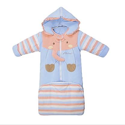 Vine Saco de Bebés Niños de Dormir Larga bebe Manga Manta Acolchado Algodón Otoño Invierno