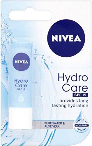 THREE PACKS of Nivea Lip Care Hydro