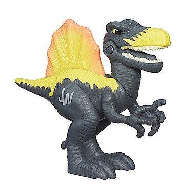 Playskool Heroes - Jurassic World - Chomp 'n' Stomp - Spinosaurus - Dino mit spannender Zusatzfunktion