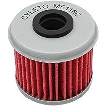 Filtro de aceite Cyleto para Honda CRF450R CRF450 R CRF 450R 2002-2016/CRF450X
