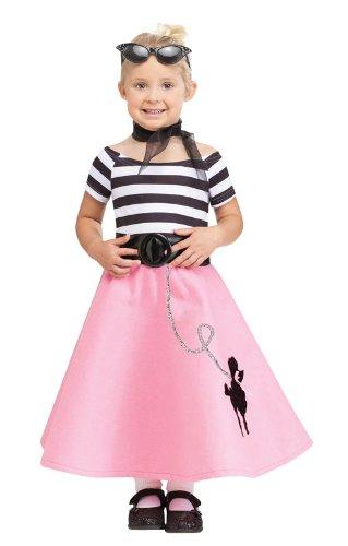 Soda Shop Mädchen Kleinkinderkostüm für Fasching & Karneval (Kostüm Baby Soda)