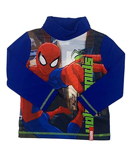 (PICCOLI MONELLI Rollis Spider Man Spinne Boy Halb Hals 3 Jahre 98 cm blau)