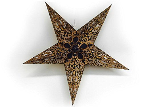 New 60cm Star Hanging Light Ceiling Lamp Shade Paper