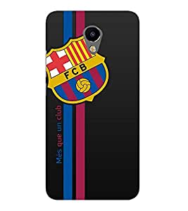 Takkloo Football club ( Sports, Men Sports, Women Sports, Symbol of football club, Black Background) Printed Designer Back Case Cover for Meizu M2