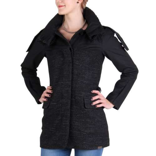 PEUTEREY AIGUILLE NOIRE Damen Mantel Rebel Schwarz 01110495 Größe S