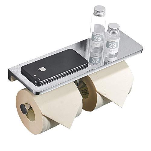 HANQINGLI Deutscher Rollenhalter Aus Massivem Kupfer Handyhalter Toilettenpapierhalter Toilettenpapierhalter Licht