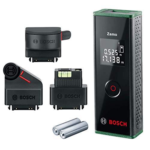 Bosch Télémètre Laser Zamo Set (3E Génération, portée: 0, 15 - 20, 00 M, Boite carton)