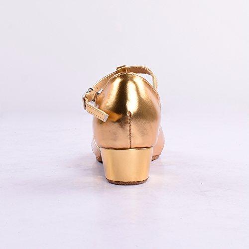 Kevin Fashion , Chaussures de danse fille Doré