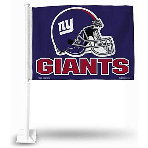 Unbekannt NFL KFZ Flagge, Unisex, New York Giants