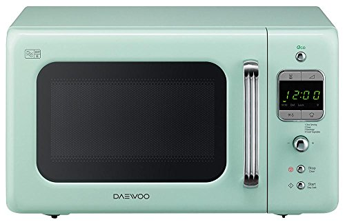 daewoo-kor7lbkm-800w-microwave-in-mint-green-with-20l-capacity